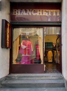 Ecclesiastical clothing shop Milano